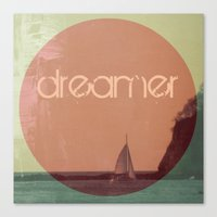 dreamer Canvas Prints featuring Dreamer by Endless Summer