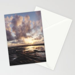Sunrise Over the Beach 2 Stationery Cards
