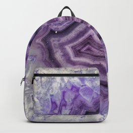 Colorful agate Backpack