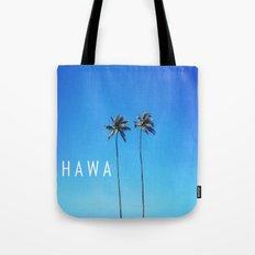 Hawaii Palm Trees Tote Bag