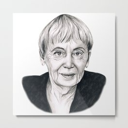 Ursula Le Guin Metal Print