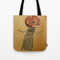 over the garden wall Tote Bags featuring over the garden wall by pokegirl93
