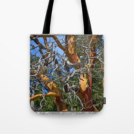 MADRONA TREE DEAD OR ALIVE Tote Bag