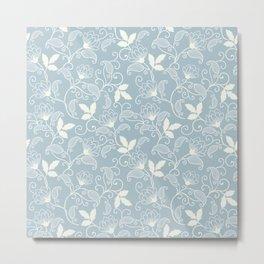flower seamless Metal Print