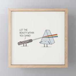 true colours Framed Mini Art Print