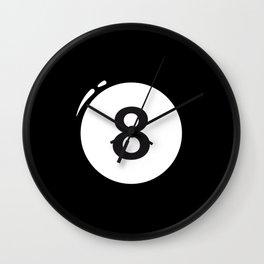 8 ball Wall Clock