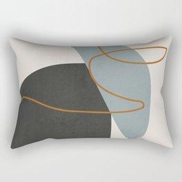 Minimal Abstract Art 3 Rectangular Pillow