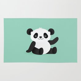 Happy Panda Rug