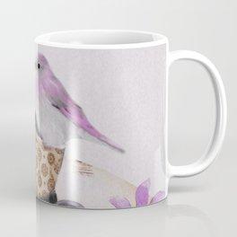 Bird in tea cup Coffee Mug