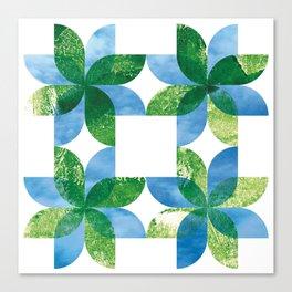 Biomandala Canvas Print