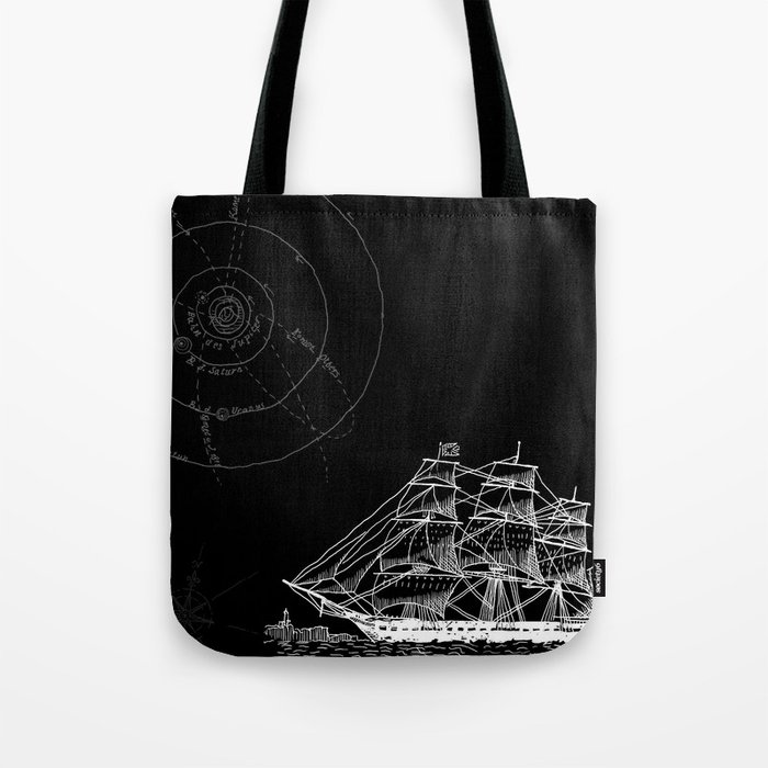 If Time Is My Vessel Tote Bag