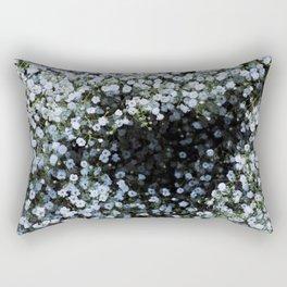 Snowflake Flowers Rectangular Pillow