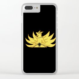 The Demon Fox Within Clear iPhone Case