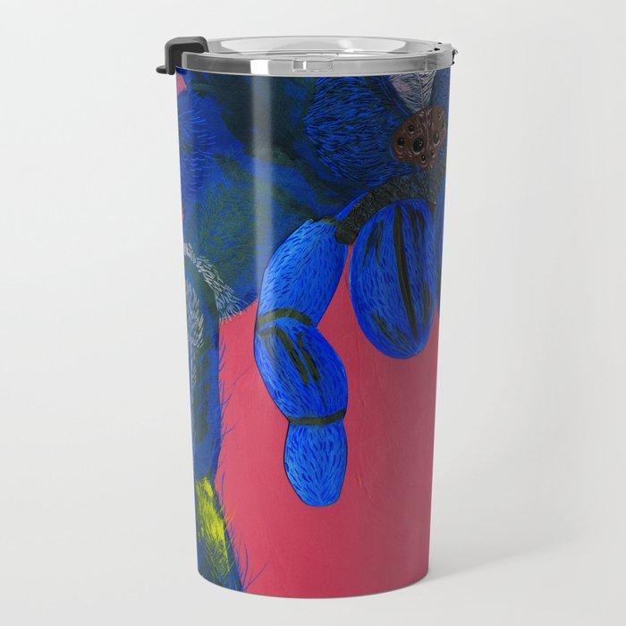 Peacock Tarantula Travel Mug