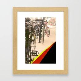 BikeStrips Framed Art Print