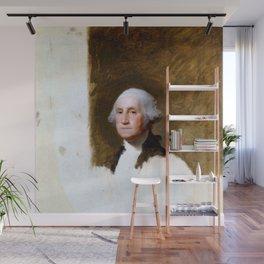 "Gilbert Stuart ""Portrait of George Washington (The Athenaeum Portrait)"" Wall Mural"