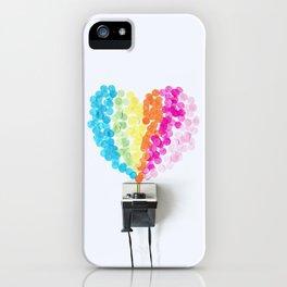 My Polaroid heart iPhone Case