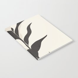 Abstract Minimal Plant Notebook