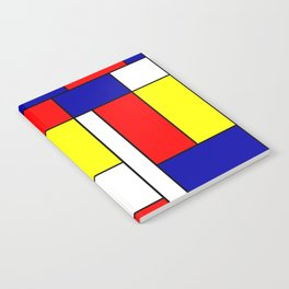 Mondrian #38 Notebook