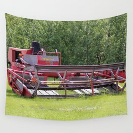 Antique Tractor Wall Tapestry