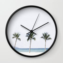 Palm trees 6 Wall Clock