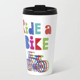 Ride a Bike - Sketchy Travel Mug