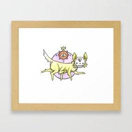 Foxgod Framed Art Print