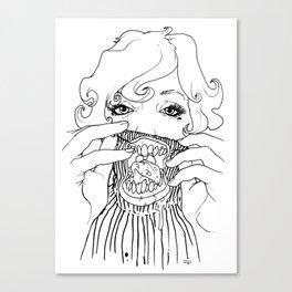 Sweet Rotten Scream Canvas Print
