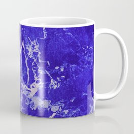 Cobalt Marble Coffee Mug