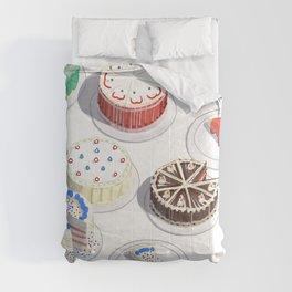 I Like Cakes Comforters