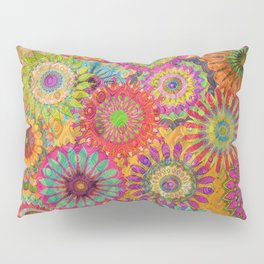 Mysterious Mandalas Pillow Sham