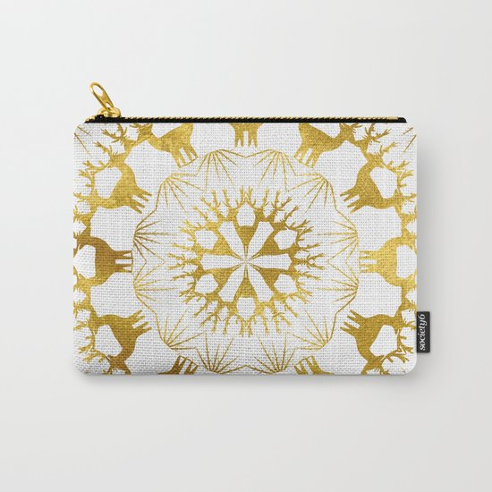 Gold Christmas 05 Carry-All Pouch