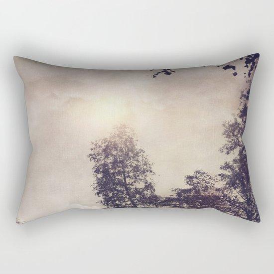 Sun & Trees Rectangular Pillow