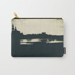 Silhouette des Dresdener Elbufers Carry-All Pouch