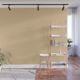 From The Crayon Box – Gold Brown Solid Color Wall Mural