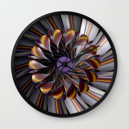 Hearts at the Center Wall Clock