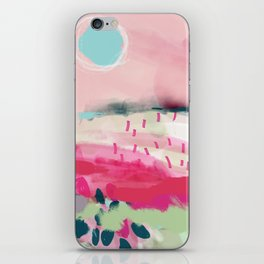spring dream landscape iPhone Skin