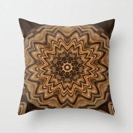 Sequential Baseline Mandala 34 Throw Pillow