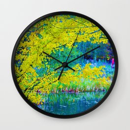 Lake Side Edge Wall Clock