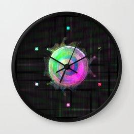 Galactic Snail Wall Clock