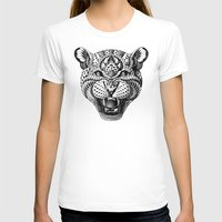 leopard T-shirts featuring Leopard by BIOWORKZ