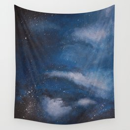 Abstract Night Skye Wall Tapestry
