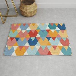 Colorful Geometry I Rug