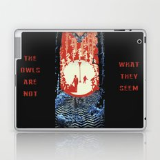 The Owls Are Not What They Seem (Twin Peaks) Laptop & iPad Skin