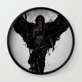 Dark Valkyrja Wall Clock