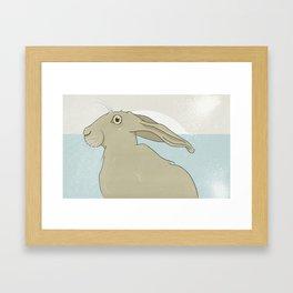 Golden Hare No.13 Framed Art Print