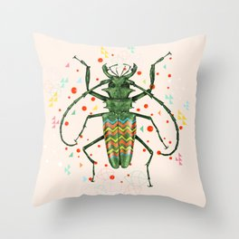 Insect V Throw Pillow