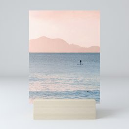Minimalist Sunset Mini Art Print