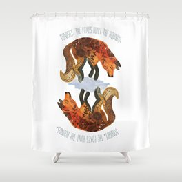 We Are Wild. Shower Curtain