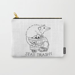 Stay Trashy Carry-All Pouch